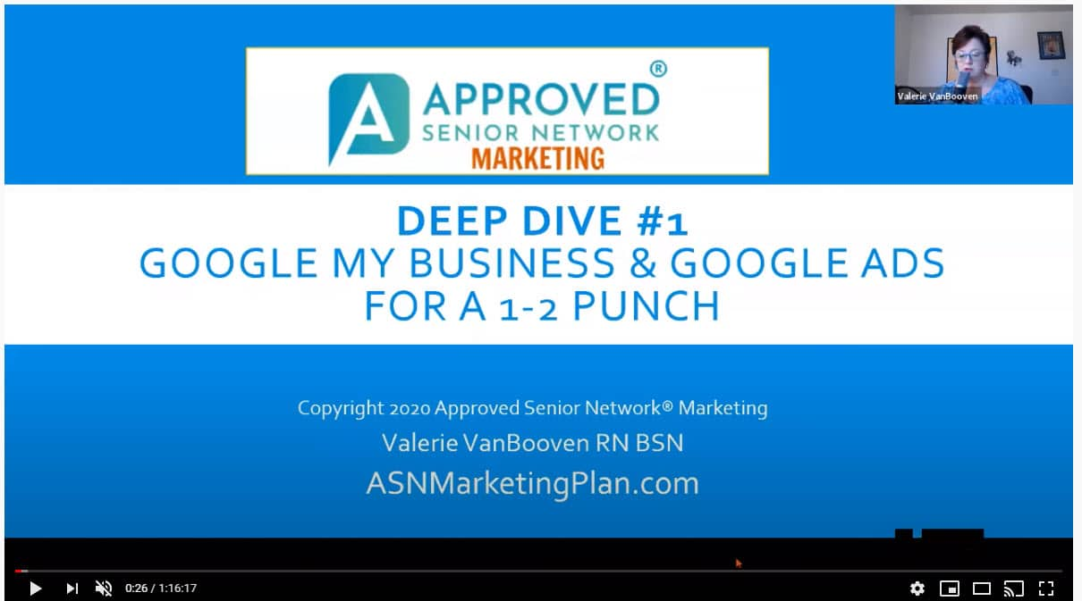 Google My Business PLUS Google Ads for a 1-2 Punch that Increases Revenue. Watch this Deep Dive into what WORKS for both.