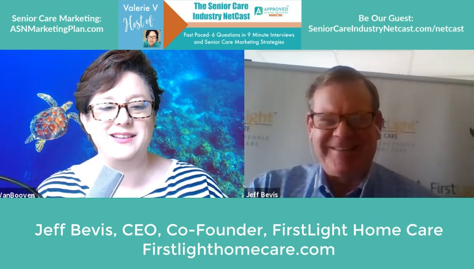 Jeff Bevis CEO FirstLight Home Care