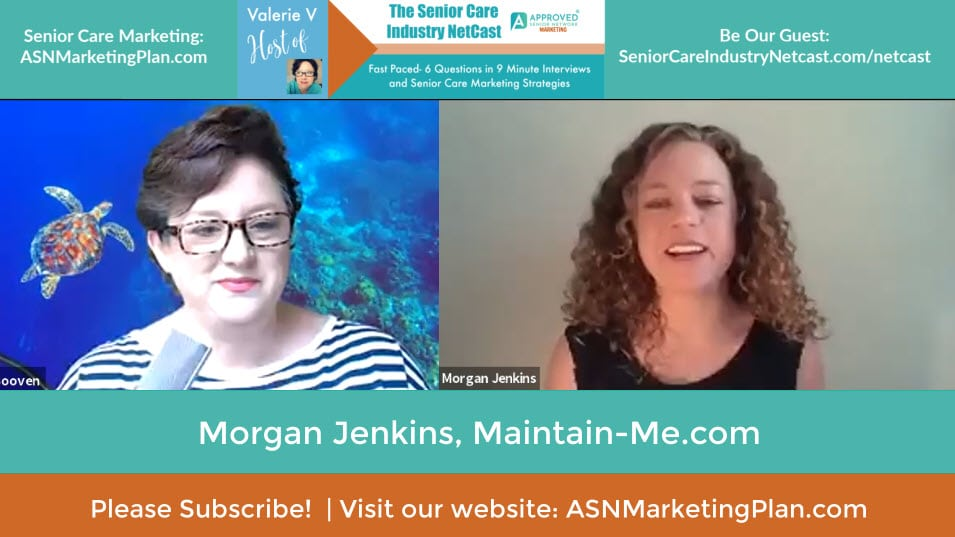 Morgan Jenkins Senior Care Industry Netcast