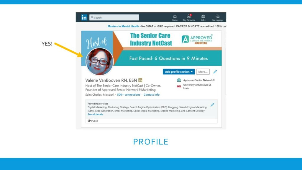 (VIDEO REPLAY) Deep Dive #4- Senior Care Marketing on LinkedIn! More Referrals and More Referral Sources 42