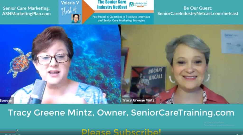 Tracy Greene Mintz Senior Care Training