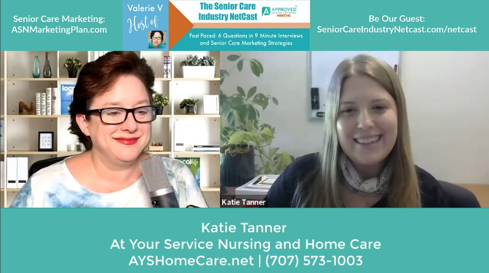 Katie Tanner, At Your Service Nursing and Home Care Santa Rosa