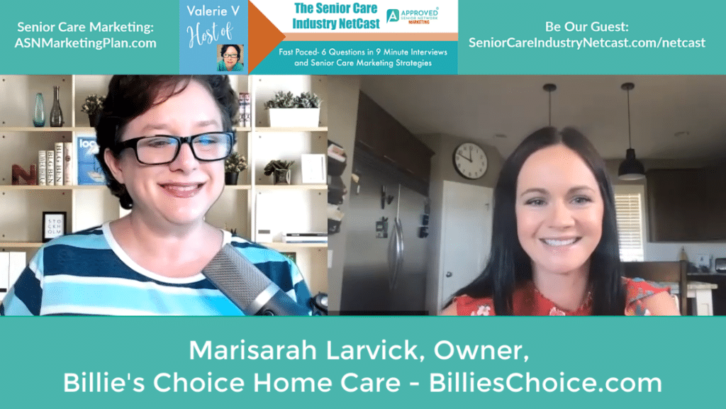 MARISARAH LARVICK BILLIES CHOICE