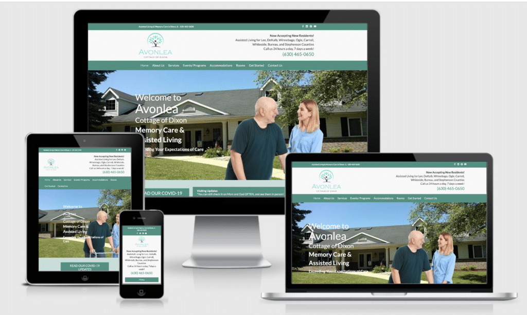 Web Design for Assisted Living and Care Homes
