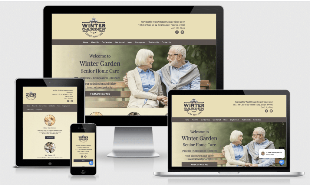Web Design by Approved Senior Network