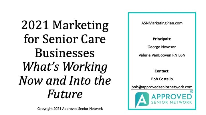Home Care Marketing and Recruiting 2021- What is Working NOW & Into the Future!