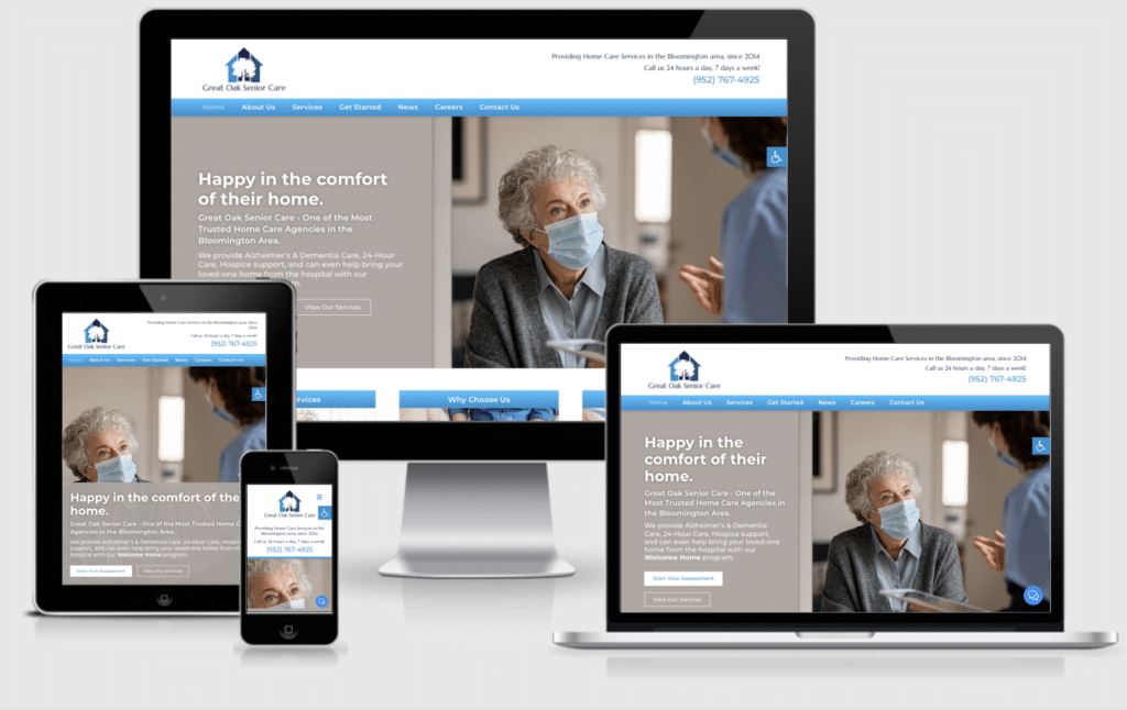 Web Design For Home Care Agencies