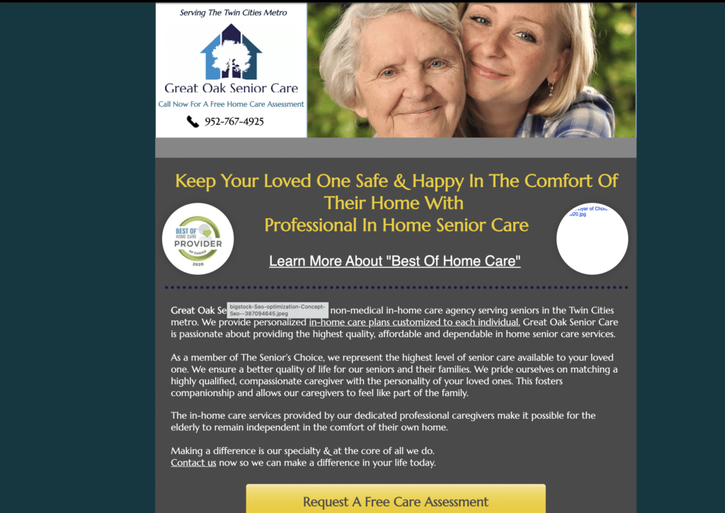 How Advanced SEO Will Increase Your Home Care Website Visibility- Case Study with Results! 3
