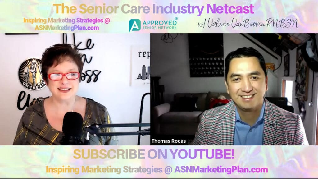 EP 110 Senior Industry Netcast with Thomas Rocas, CEO ANX Health Care 1