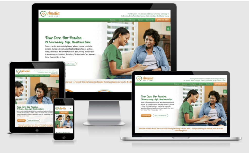 New Home Care Website Announcement: Welcome AmeliaHomeCareNY.com is Live! 5