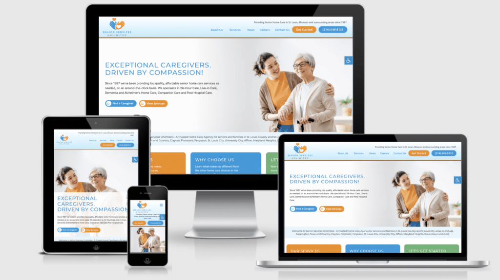 New Home Care Website- Senior Services Unlimited of St. Louis
