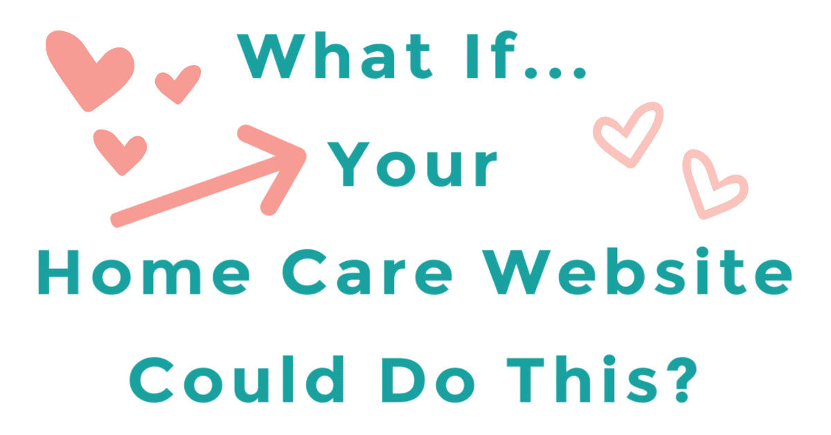 Home Care Website Amazing Results